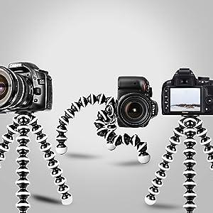 camera gadgets, mobile camera gadgets, tripod, camera accessories, gorillapod tripod,flexible tripod