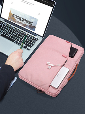 15.6 inch Water Resistant Laptop Briefcase Bag