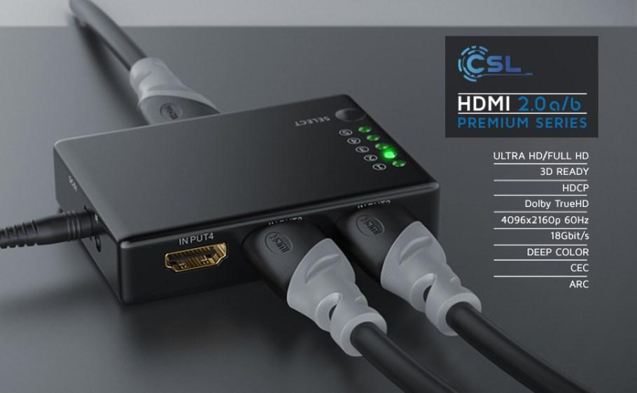 303652 Câble HDMI 4k NOIR / GRIS PVC