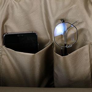 Built-in multifunction pocket