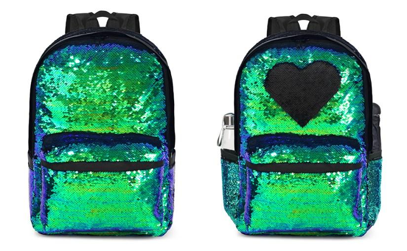 girls glitter backpack