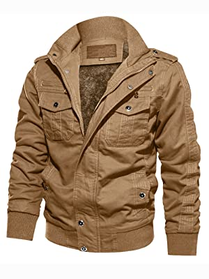 winter fall spring zip up jackets