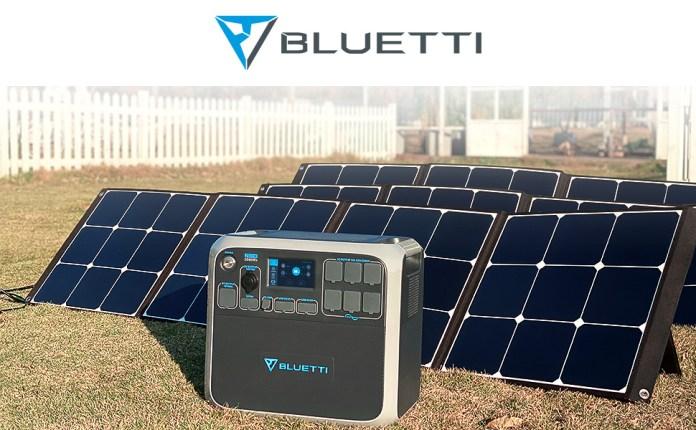 BLUETTI ac200p 2000wh/2000w solar power station