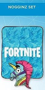 Fortnite Pillow Blanket Set