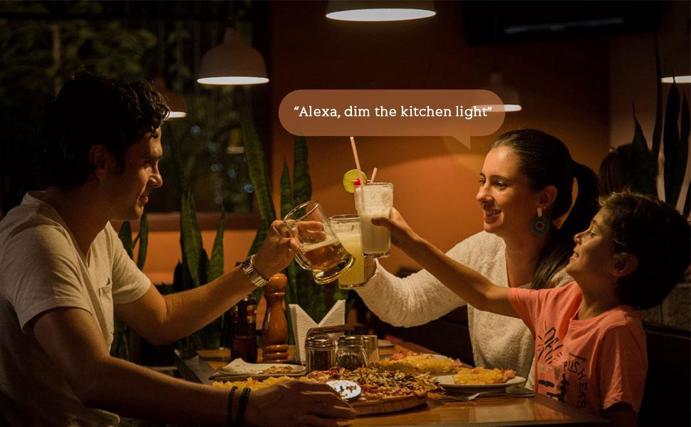 Alexa light bulbs