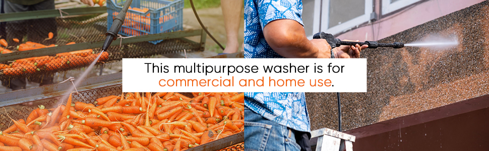 Vantro water Pressure washer multi purpose useable