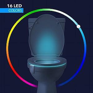 Best Rainbowl Toilet Night Light there is on the market under 10 Boyfriend Housewarming Present