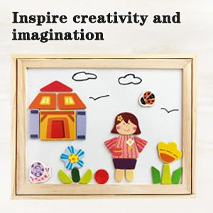 inspire creativity and imagination