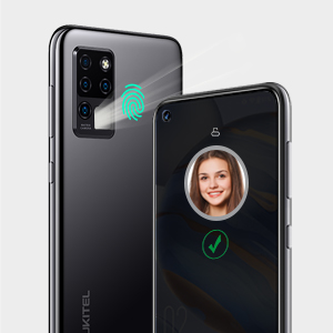 face ID and fingerprint