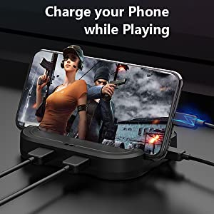 charge your phone while playing