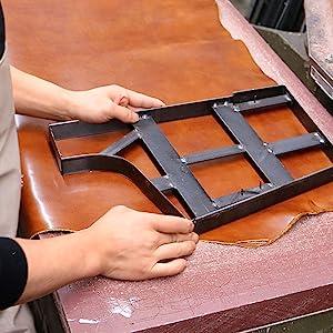 Floto Leather Bag production