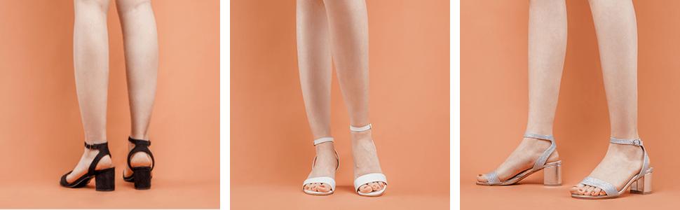 dream pairs heels for women