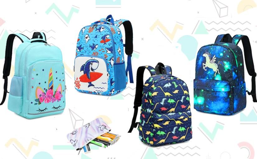 unicorn backpack kids school bag dinosaur bookbag shark school backpack