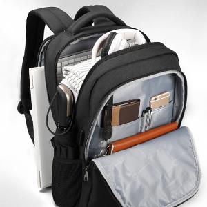 Mochilas de mano de 15.0 in para portátil bolsa impermeable para portátil mochila de la escuela bolsas para las mujeres