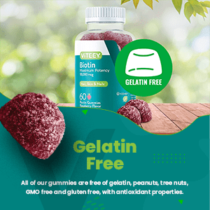 All of our gummies are free of gelatin, peanuts, tree nuts, GMO free and gluten free