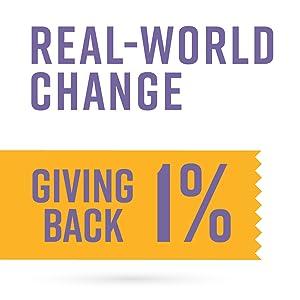 Real-World Change: Giving Back 1%