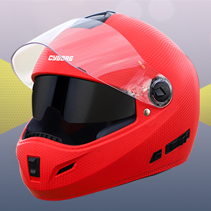 double visor helmet