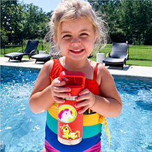 Water bottle stickers for Girls Kids