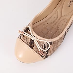 women flats shoes knot
