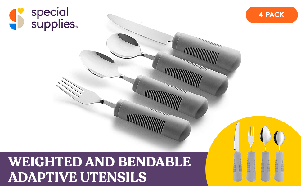 Weighted Adaptive Bendable Utensils