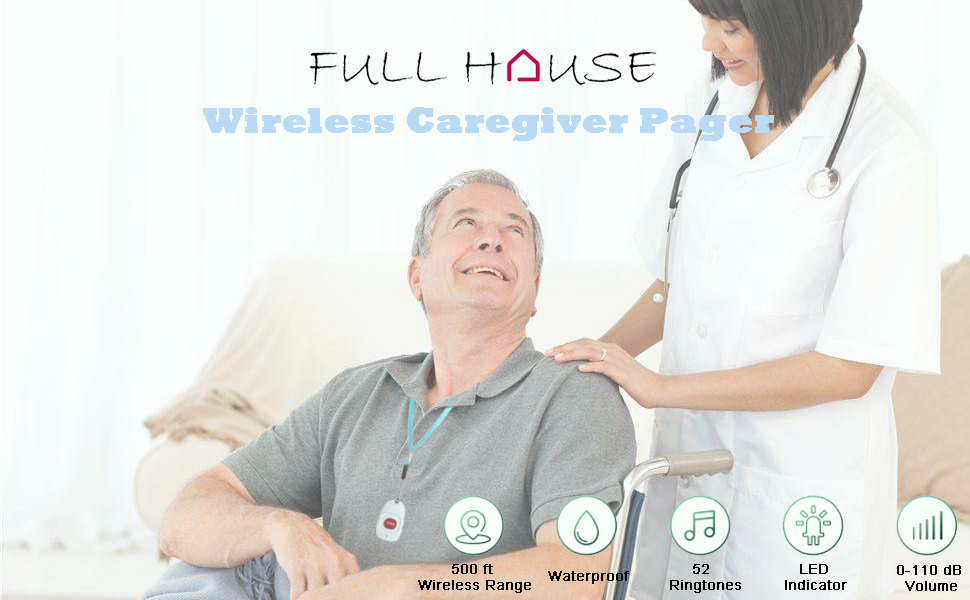 Wireless Caregiver Pager