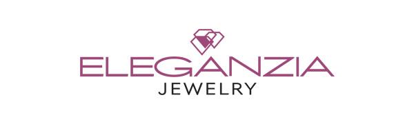 Eleganzia Jewelry logo quality contemporary sterling silver jewelry