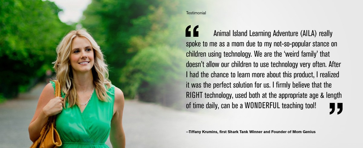 Tiffany Krumins Mom Genius Animal Island Tablet Toddlers