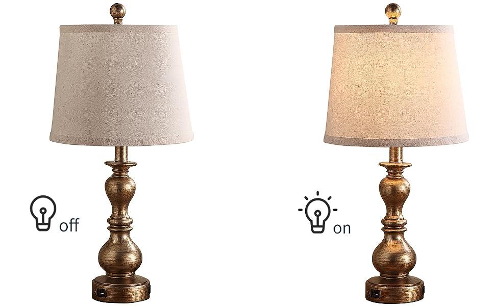 yatak odası için başucu masa lambaları