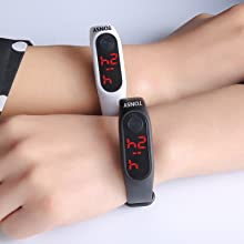 Led watch for men's and boys