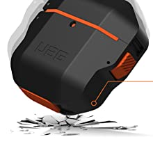 UAG MILITARY DROP TESTED SHOCKPROOF SHOCK ABSORPTION RUGGED TOUGH STRONG CASE