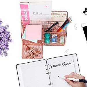 Desk Organizer with Drawer