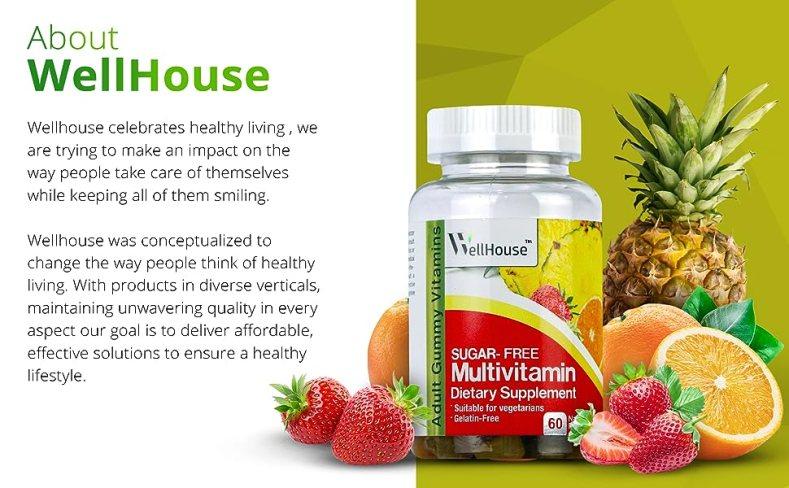 Healthy Living, Lefestyle, Dietary Supplements, Gummies, WellHouse, Flavour Gummies, Multivitamins