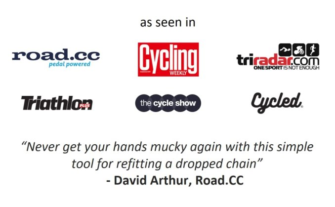 Rehook - As seen in PADDED - cycling weekly the cycle show 2018 roadcc triathlon plus