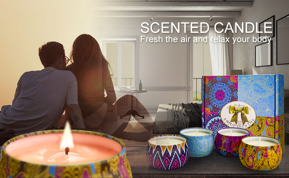 candle gift for women