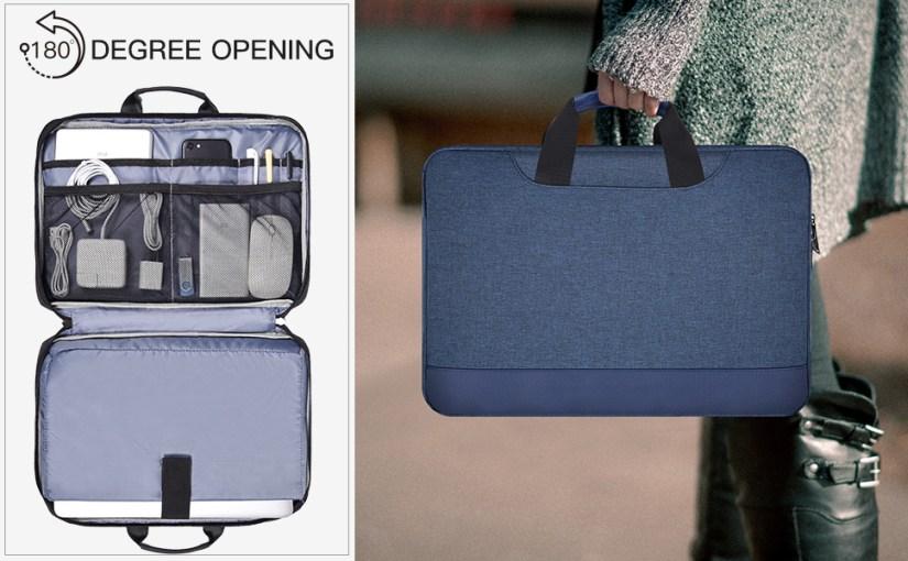 13.5-15 inch laptop briefcase with Organizer