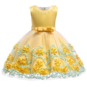 yellow baby girl dress