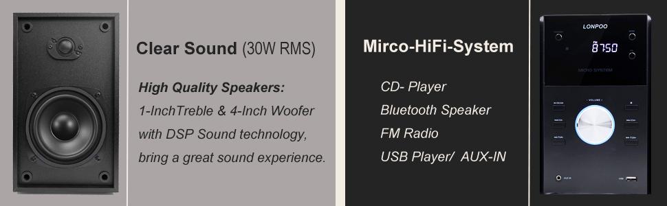 Micro-Stereoanlage