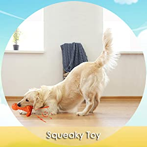 wieppo dog squeaky toy durable