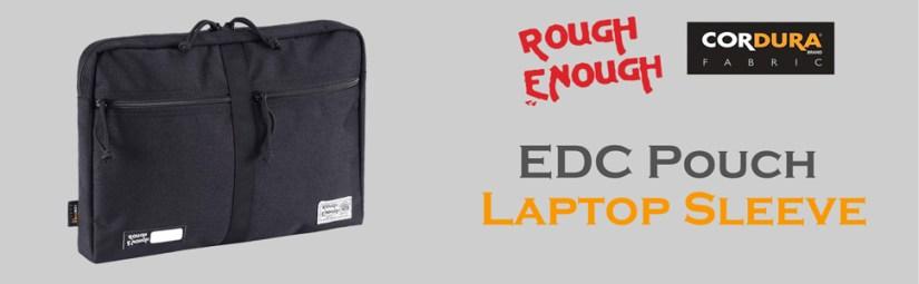 "Rough Enough EDC pouch 13"" laptop sleeve case bag document safe file folder organizer for men women"