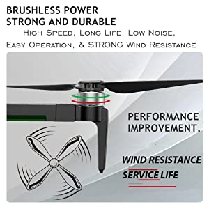 Drone with Brushless Motors
