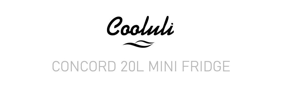 cooluli portable thermoelectric 20L 20-liter large mini fridge portable snacks food skincare make-up