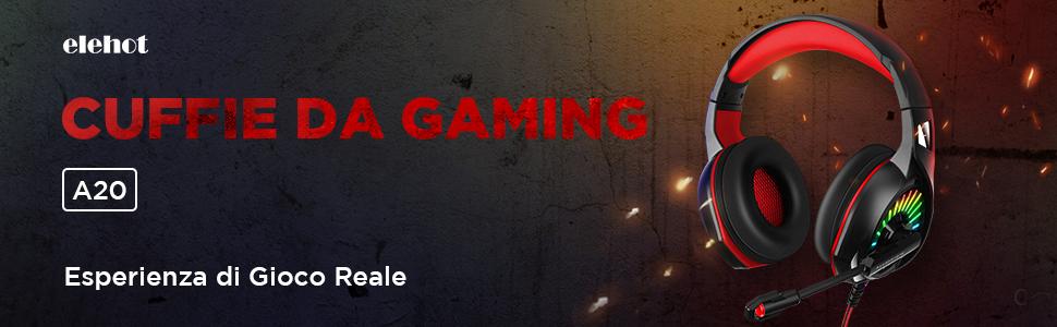 cuffie gaming