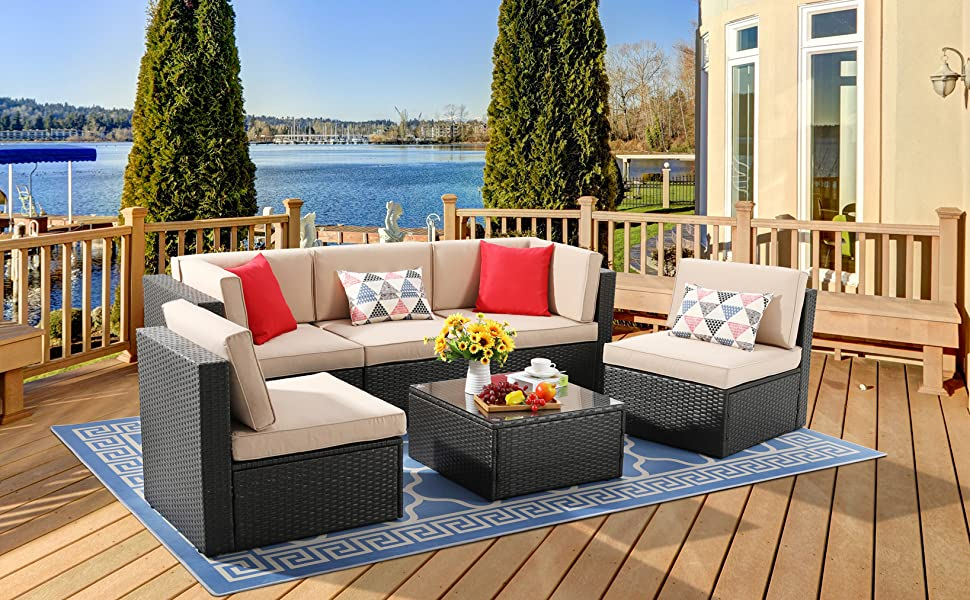 6 piece patio furniture sets