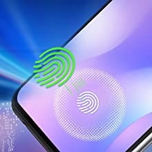 The latest Fingerprint sensor on the screen