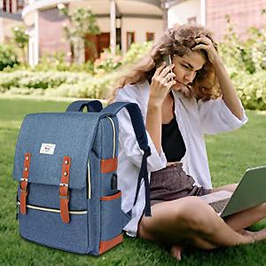 Backpack College School Bag