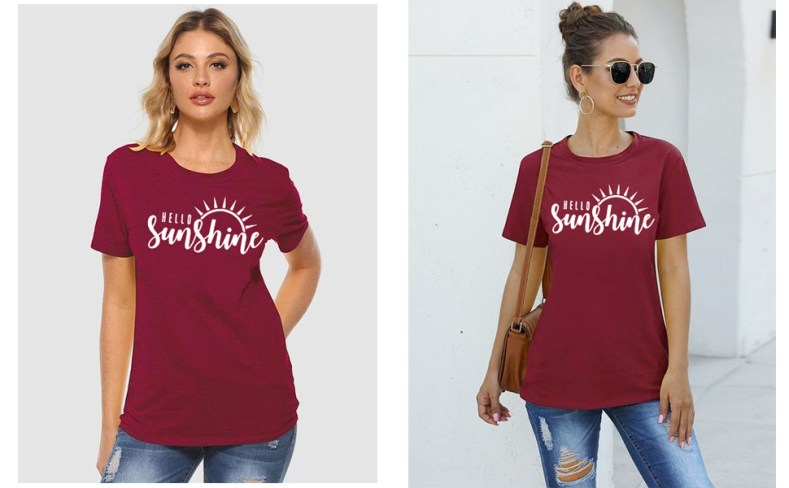 sunshine t shirt