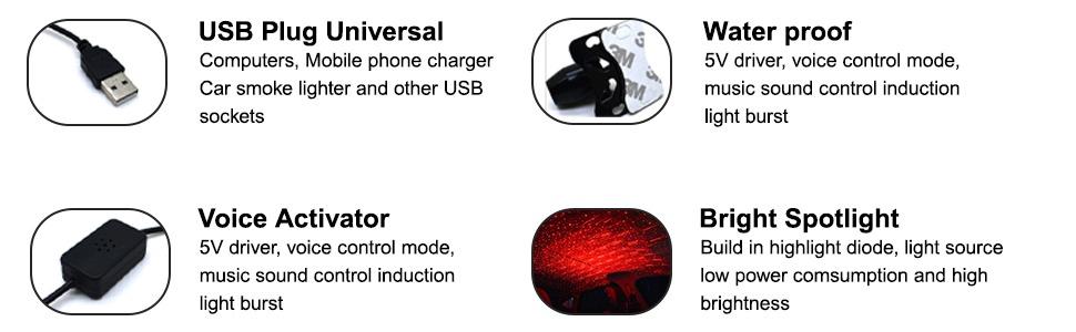 car projector light