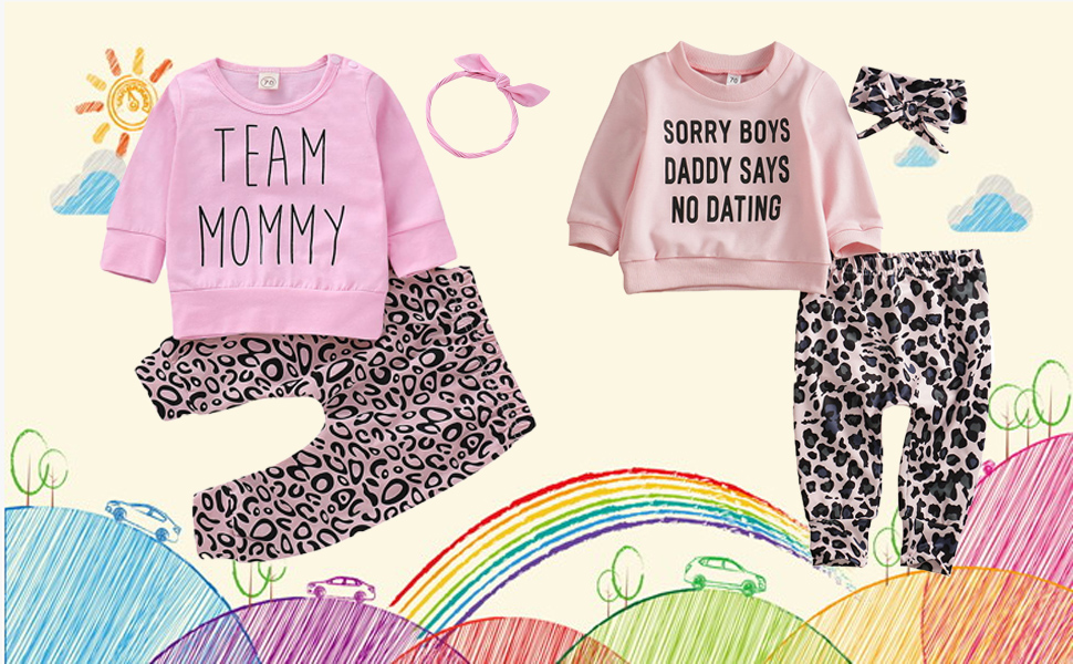 Clasunbaby girl outfit set
