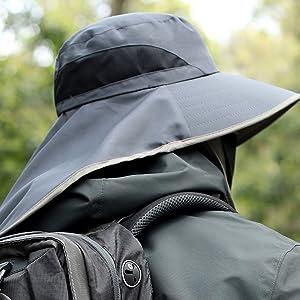 Sun Wide Brim UV Protection Fishing Hats