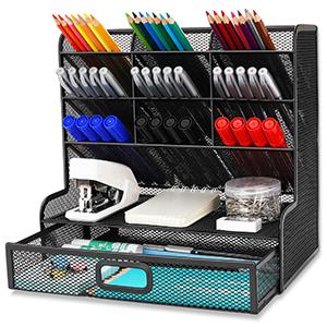 Wellerly desk organizer pencil holder office school home supply